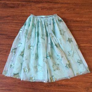 Cat & jack xs(4/5) mint skirt